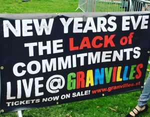 Granvilles, New Years Eve. The Lack of Commitments