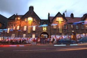 Pleasance Courtyard. The LoC are in Edinburgh 2018