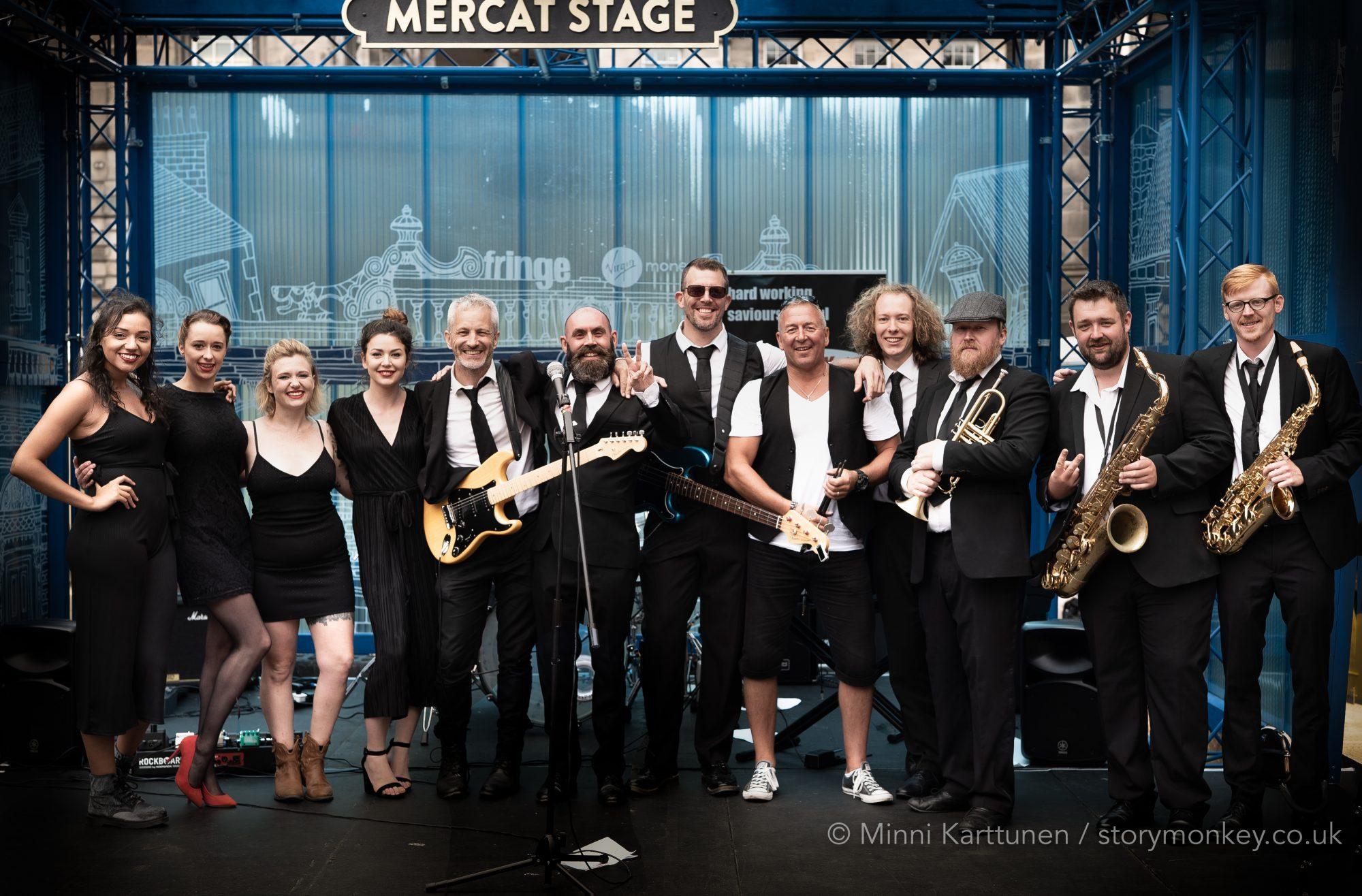The Lack of Commitments on the Mercat Stage, Edinburgh Fringe Festival